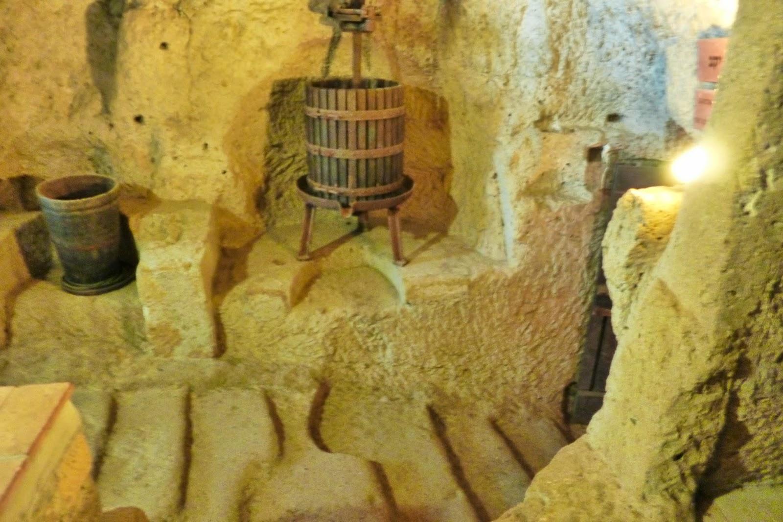 Produção antiga de vinho kosher, Pitigliano