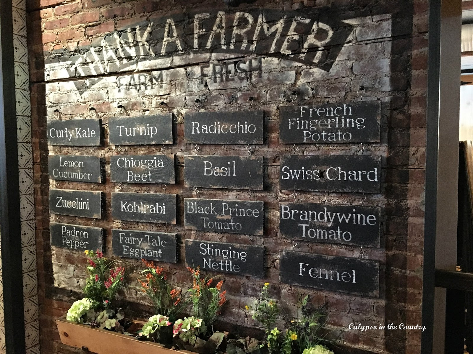 Places to Spend a Fall Day - Agricola Restaurant in Princeton