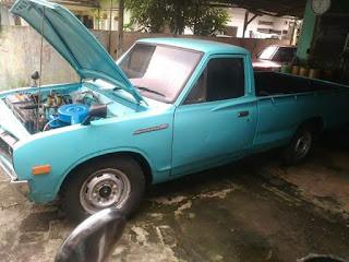 Pickup Retro Datsun 620 GN Tahun 1979 Tangan Pertama...