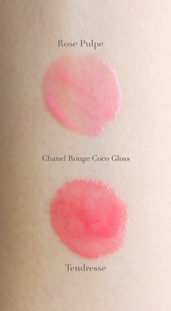 Chanel Rouge Coco Gloss Tendresse swatch