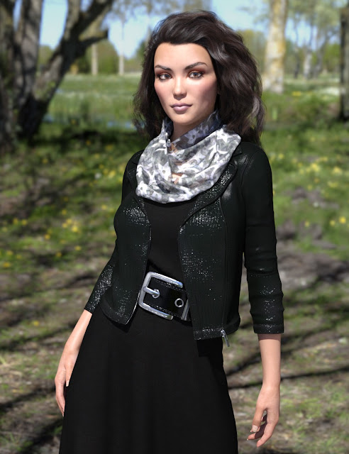 dForce All Seasons Outfit for Genesis 8 Female