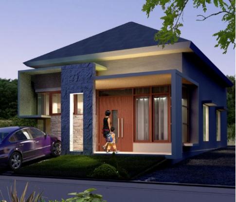 20 contoh model rumah minimalis modern model 1 lantai