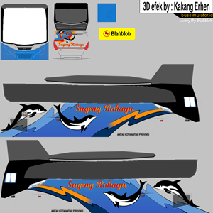Livery New Celcius Sugeng Rahayu Dolphin