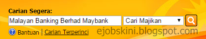 Jawatan Kosong Malayan Banking Berhad (Maybank) 2017
