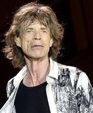 Foto de Mick Jagger más anciano y con arrugas