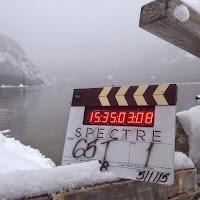 Spectre Filmklappe am Altausseer See