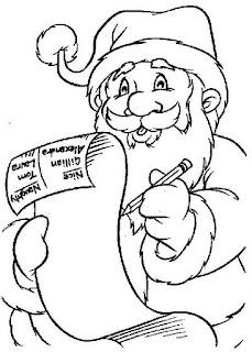 Louca Por Desenhos Papai Noel Para Colorir