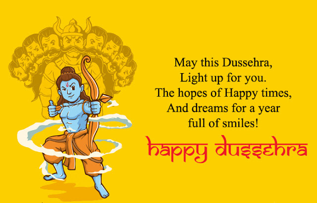 Dussehra SMS in English 2019