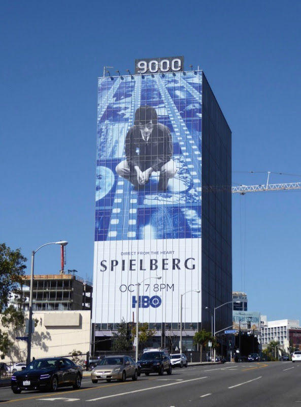 Giant Spielberg HBO billboard