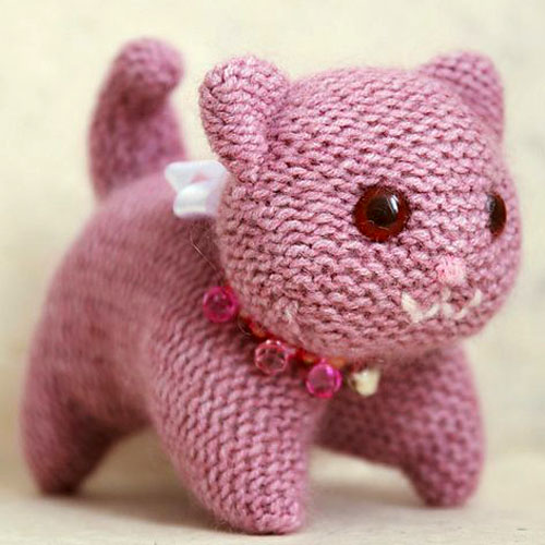 Knitted Kitty - Free Pattern