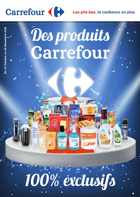 catalogue carrefour maroc produits exclusifs octobre novembre 2018