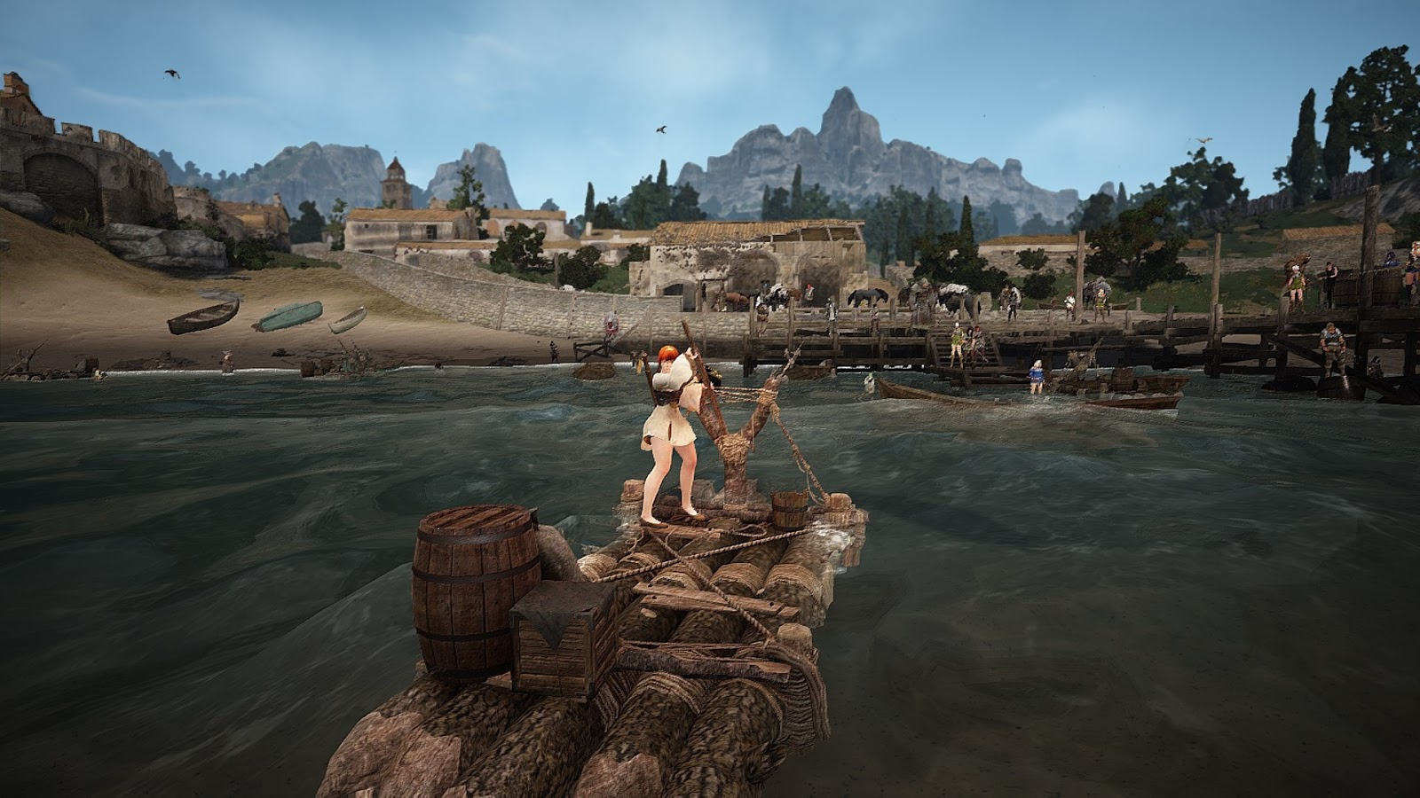 black desert online how to sell fish