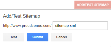 how to submit sitemap xml file to google webmaster tools proud