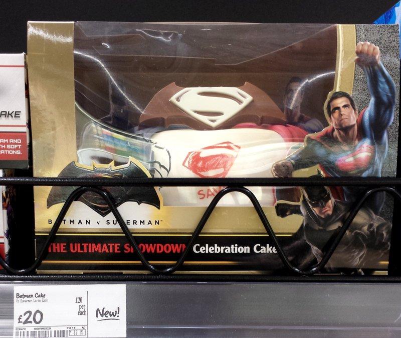 Batman Party Cake Asda
