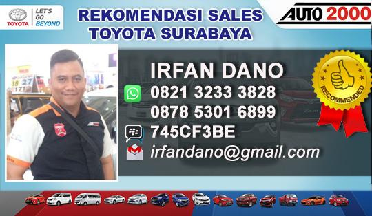 Rekomendasi Sales Toyota Kertajaya Surabaya