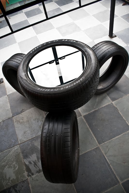 20 ideas how to use old tires part 2 for Autoreifen gartendeko