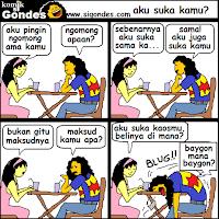 Komik Strip Cinta PSD
