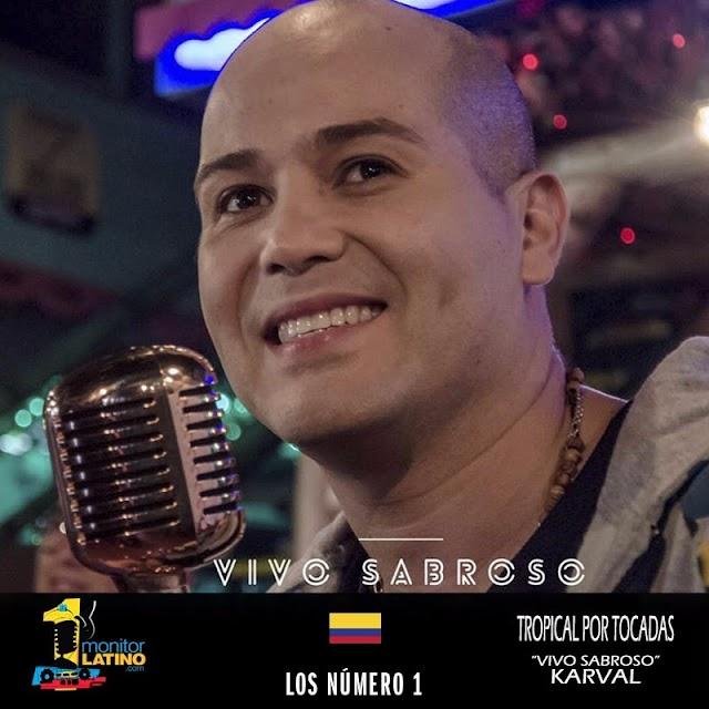 Canción Tropical mas tocada en Colombia VIVO SABROSO de KARVAL