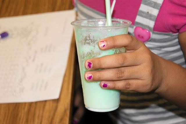 Little Hand Holding a Leprechaun Shake Image