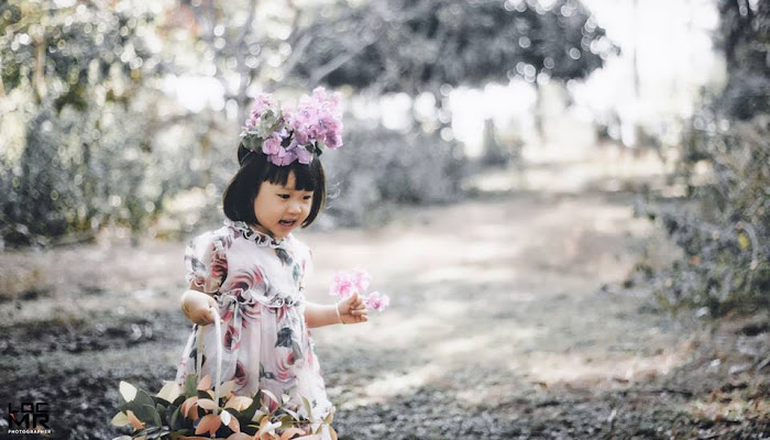 Cô bé Thỏ trong chuyện cổ tích | Bộ sưu tập ảnh Baby Art
