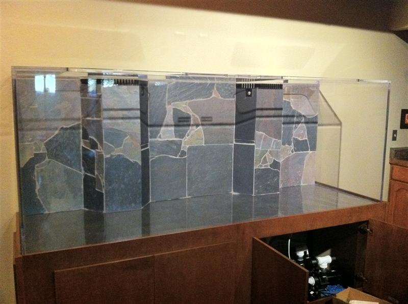 Adventures at Lazy C: Monster Fish Tank   450 Gallon Tank