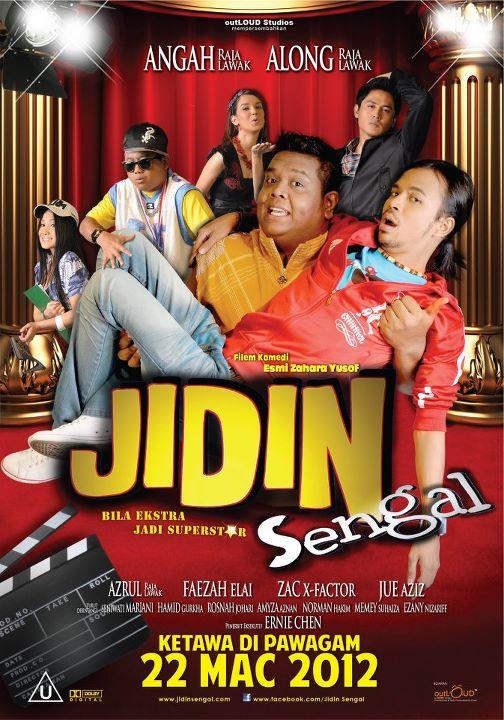 Review Filem Jidin Sengal