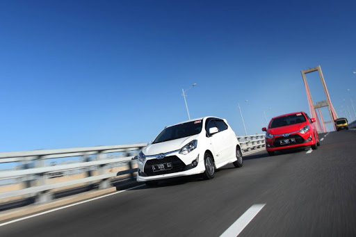 Media test Toyota Agya 1.2