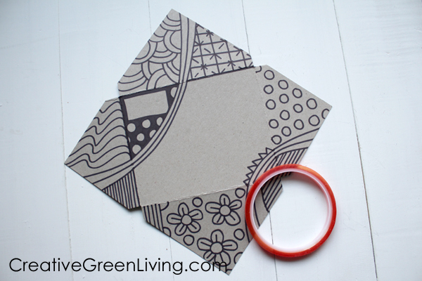 How to make an envelope from paper board