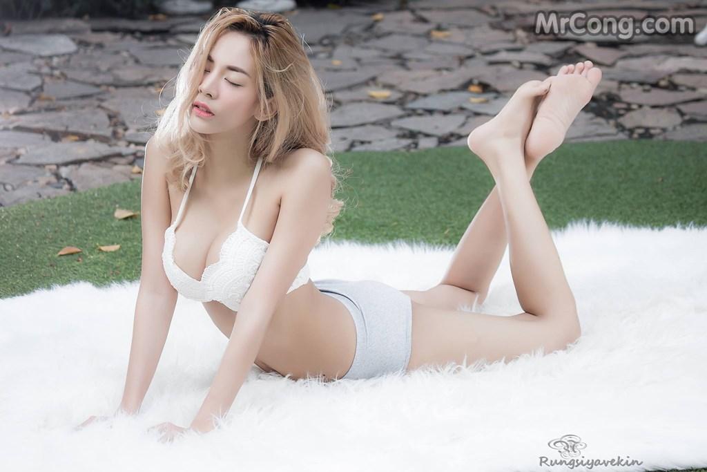 Image Nguoi-mau-Thai-Lan-Jiraporn-Ngamthuan-MrCong.com-006 in post Người đẹp Jiraporn Ngamthuan nóng bỏng tạo dáng với trang phục biển mát rượi (28 ảnh)