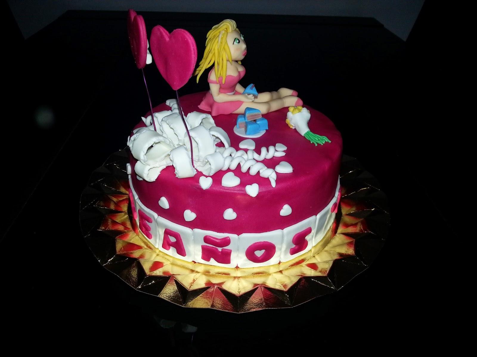 Naia S Sweet Cakes Tarta De Cumpleanos Para Ana 25 Anitos