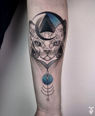 Tatuajes de animales estilo Art Nouveau