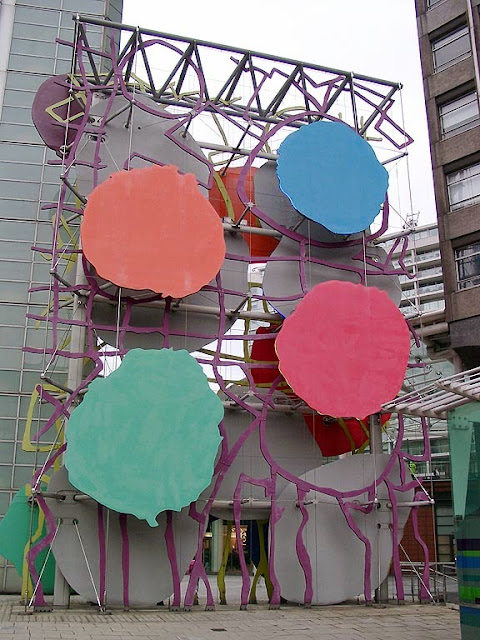 Big Painting Sculpture by Patrick Heron, Stag Place, Westminster, London