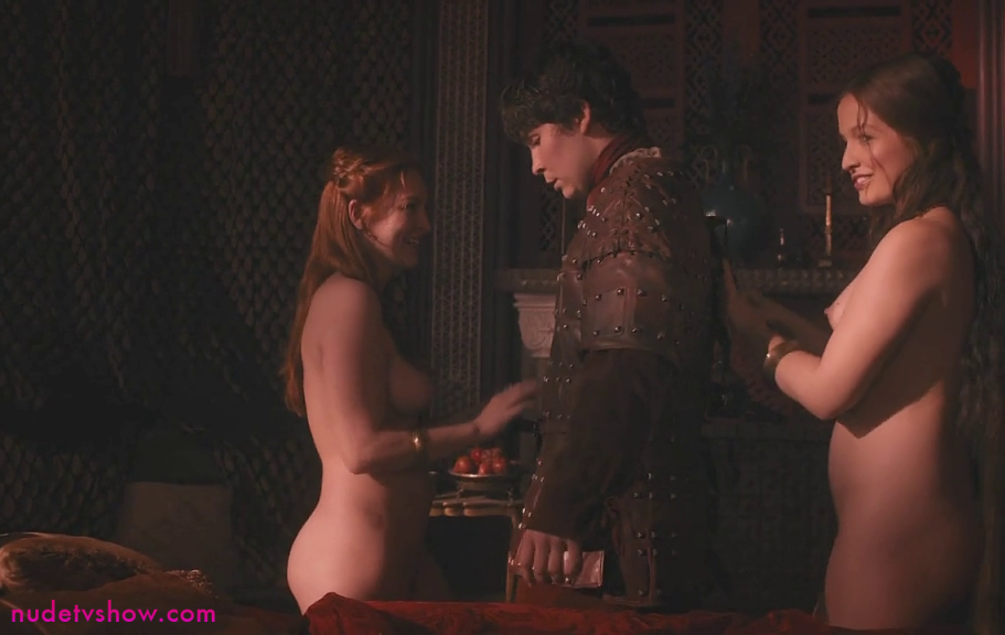 Game Of Thrones S03E03: Josephine Gillan (left) and Kylie Harris (right) nude scene