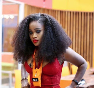 "#BBNaija2018: ""I Can't See Without My Lashes"" – Cee-C"