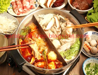 Foto Resep Spicy Hot Pot China Sederhana Spesial Pedas Asli Enak Lezat dan Sedap