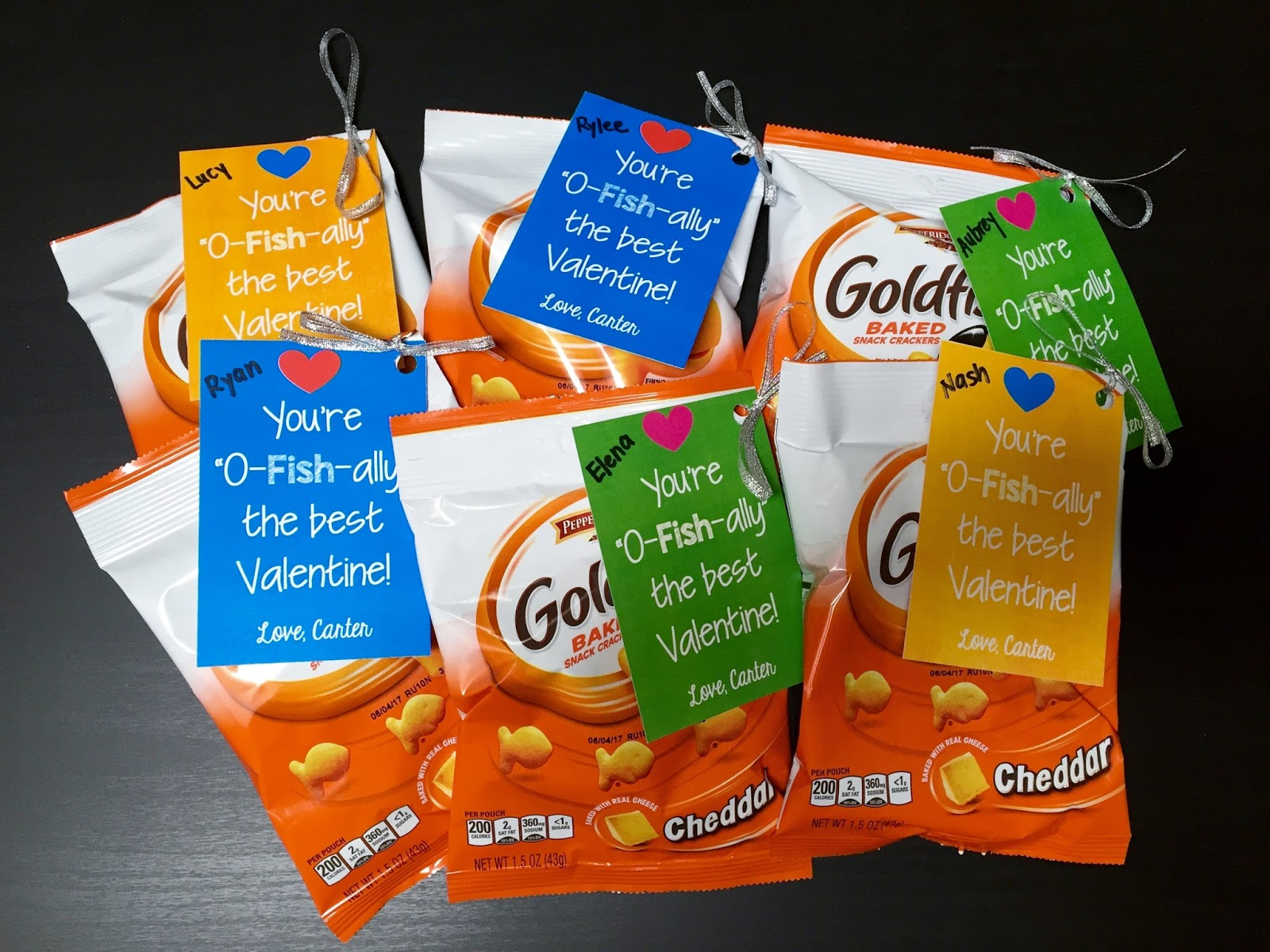 photograph regarding Goldfish Valentine Printable known as Stay and Find out: Cost-free Printable: \