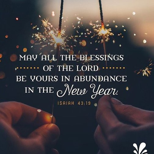 Happy new year prayers for friends