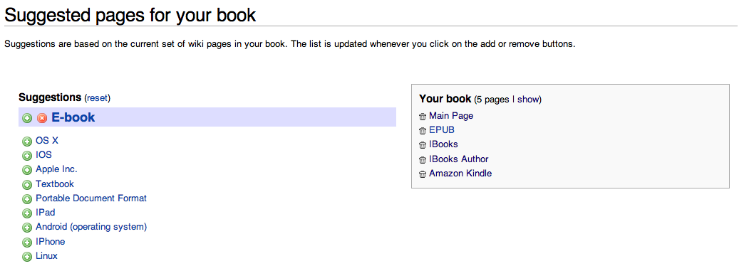 The Cabbages of Doom: Making e-Books with Wikipedia