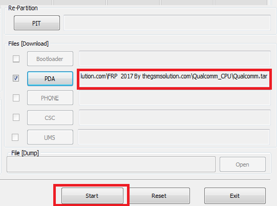 Samsung FRP Reset File Free Without Combination File 2017