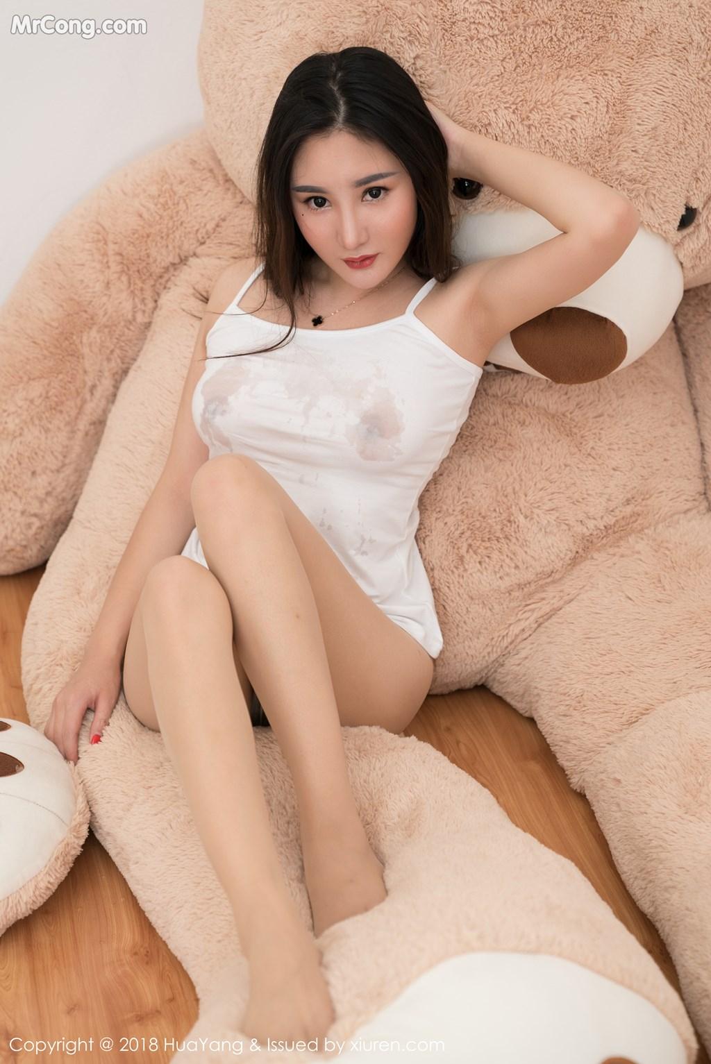Image HuaYang-2018-03-02-Vol.034-Xiao-Tian-Xin-Candy-MrCong.com-028 in post HuaYang 2018-03-02 Vol.034: Người mẫu Xiao Tian Xin (小甜心Candy) (41 ảnh)