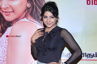 Actress Sakshi Agarwal Stills in Floral Short Skirt at Jaikira Kuthira Audio Launch  0007.jpg