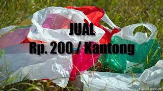Kebijakan Pembelian Kantong Plastik Rp.200