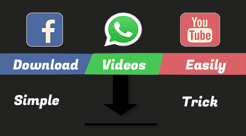 How To Download Whastapp Statuses And Videos From Facebook, Youtube | JucoTech