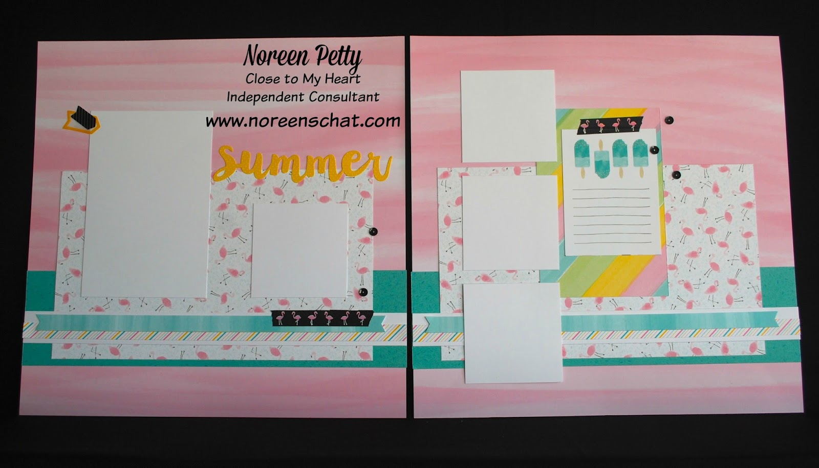 How to scrapbook faster - The Flamingos Have Been Very Popular Between Our Washi Tape Papers Coordinating Stamp Sets With Thin Cuts So Many Options To Play With