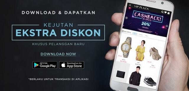 VIP Plaza online store fashion dan kecantikan di Indonesia