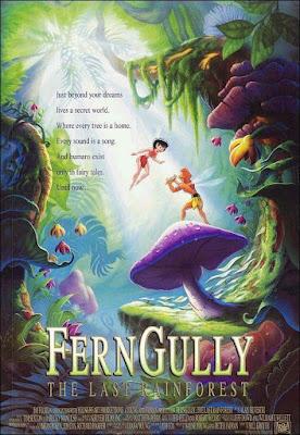 FernGully The Last Rainforest 1992 DVD R1 NTSC Latino