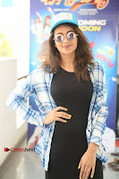 Actress Tejaswi Madivada Stills in Balck Long Dress at Babu Baga Busy Movie Interview  0024.jpg