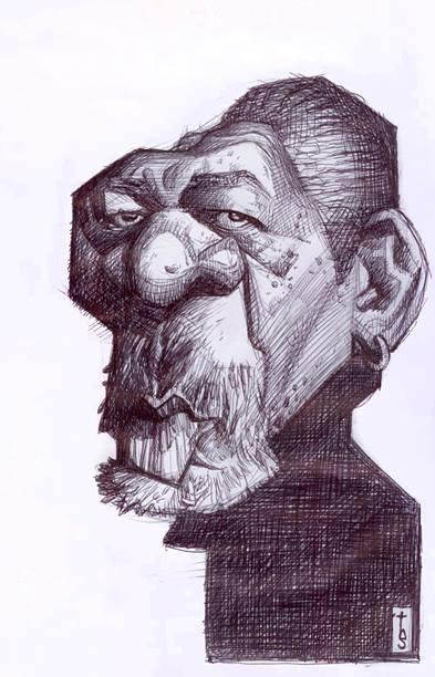 Morgan Freeman por Bruno Tesse