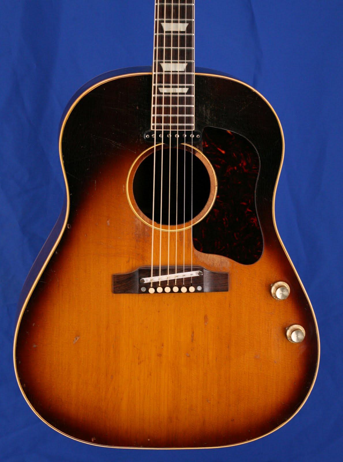 Beatles Guitars: Guitars-A-Go-Go: 1961 Gibson J-160E