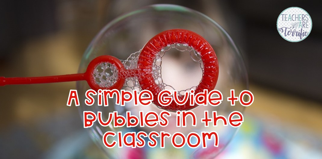 STEM Challenge and experiment- students experiment with tasks using bubble solution. Then they design their own bubble wand. This post will help with tips and the resource has even more. It includes a detailed teacher's guide, photos, a lab sheet, and scoring rubric. #STEM #elementary